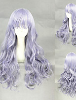 26inch Medium Long Wave Light Purple Synthetic Anime Lolita Wig CS-280A