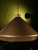 40W Retro Los diseñadores Latón Envejecido Metal Lámparas ColgantesSala de estar / Dormitorio / Comedor / Habitación de estudio/Oficina /