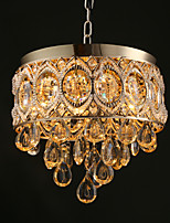 Gold Romantic Champagne Crystal Chandeliers