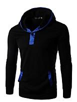 Sets Activewear Uomo Casual / Attività sportive Tinta unita Manica lunga Rayon