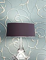 Floral Papier peint Contemporain Revêtement,Intissé Continental Wallpaper 3D Relief Coining