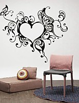 AYA™ DIY Wall Stickers Wall Decals, Heart Frame PVC Wall Stickers