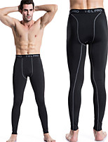 Men's High Stretch Tight Pants PRO Sports Running Long Pants Sexy  Designed Sweat Quick-drying Trousers