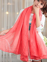 New Cotton Linen Scarves Solid Color Women's Spring And Autumn Korean Fashion Wild Large Shawl