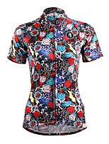 ilpaladinoSport Women Short Sleeve Cycling Jersey New Style Distinctive  DX629Hunting women100% Polyester
