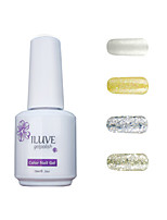 ILuve Gel Nail Polish Set - Pack Of 4 - Long Lasting 3 Weeks Soak Off UV Led Gel Varnish – For Nail Art #4009