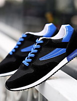 Men's Shoes Casual Leatherette Fashion Sneakers Blue / Red