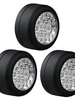 3 rotonda auto portatile 24 LED lavoro campeggio lampada del riflettore della luce gancio di emergenza