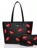 Women PU Baguette Shoulder Bag / Tote / Satchel-Black
