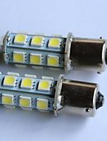 T20 / T25 / 1156/1157 luce 5050-18smd coda dell'automobile luce di stop svolta retromarcia indicatore luce laterale bianco rosso blu