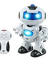 Remote Control Light Up Music Toy Plastic  Black / White / Blue