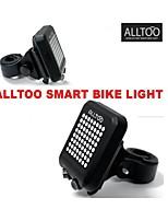 ALLTOO Bicycle Smart Sensor Light Automatic Turn Signal Bike Rear Light LED Warning Alarm Cycling Taillight Lazer