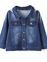 Girl's Blue Jeans Cotton Spring / Fall