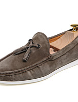 Men's Shoes Casual Leather Loafers Black / Blue / Khaki