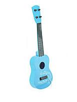 Plastic Blue / Pink Guitar Simulation Random Music Toy For Kids