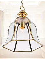 40W Campestre Mini Estilo Pintura Metal Lámparas ColgantesSala de estar / Dormitorio / Comedor / Habitación de estudio/Oficina / Sala de