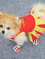 Sweety Lovely Pattern Pet Dress
