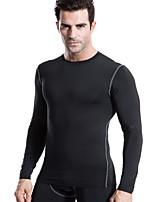 Men's Sports Training PRO Compression Long sleeve Men Quick Dry Training Running Basketball T-shirt Sports Wear