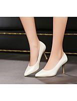 Women's Shoes Leatherette Stiletto Heel Heels Heels Office & Career / Dress / Casual Blue / Pink / Purple / White