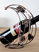 Moon Design Vintage Pure Iron Wine Rack