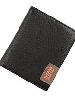 Xu™ Men Cowhide Wallet - Brown