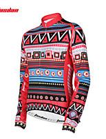 Tasdan Women's Cycling Clothing Cycling Jerseys Long Sleeve With Feece Fabric