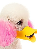 High Quality New Adjustable Dogs Muzzle Quack Closed Duck Bill Design Protective Cute Mask Bark Bite Stop for Dogs