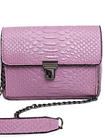 VUITTON Women PU Flap Shoulder Bag / Satchel-Pink / Green / Red / Gray / Black