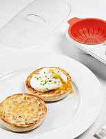 Egg Poacher Microwave Oven Soft Boiled Egg Cup For Various Ways of Cooking Quick Egg