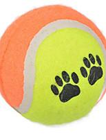 Tennis Shape Dog Training Special Toy(Random Color)