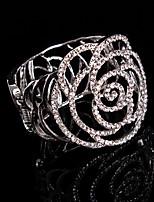 Women's Cuff Bracelet Alloy Rhinestone
