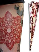 Natural Herbal Henna Temporary Mehandi Tattoo Cones Body Art VERSHA(Red)