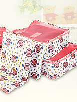 Portable Fabric Travel Storage/Packing Organizer Package for Clothing 35*26*8cm