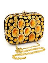 L.WEST® Women's Manual Mosaic Diamonds Party/Evening Bag