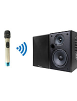 Professional TP-Wireless Handheld Microphone and Black Speaker System for Conference Room Church Classroom Teaching