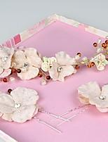 Women's Fabric Headpiece - Wedding / Special Occasion / Casual / Outdoor Headbands 3 Pieces