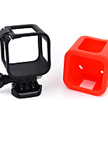1 Smooth Frame Per Gopro Hero 4 Session Conveniente Others Plastica rosso / nero / bianco / verde / blu / rosa / Rose / arancione