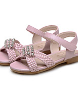 Girls' Shoes Wedding / Outdoor / Party & Evening / Dress / Casual Comfort Leatherette Sandals Pink / Beige