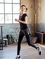 Fitness Pants Yoga Pants Leave Two Runners Aerobics Yoga Pants Tight Skinny Pants