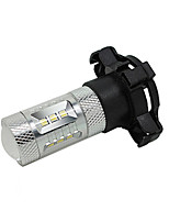 Dacia Daewoo 12V PY24W 15W LED Fog Lamp Car High Beam Lamp Car Low Beam Lamp