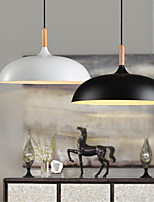 Retro pendant lights Painting Wood+Metal Dining Room,  Living Room, Cafe , Kitchen , Kids Room pendant lamps