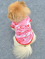 Comfortable Breathability Camouflage Pet T-Shirt