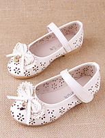 Girls' Shoes Outdoor / Casual Gladiator / Round Toe Leatherette Flats Blue / Pink / White