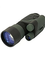 Yukon 4X 42 mm Monocular BAK4 Night Vision / Military 20° Central Focusing Fully Multi-coated Hunting /Infrared