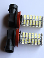 T20/T25/1156/1157 3528-120SMD Car Tail Brake Light Turn Light Reversing lamp Side Marker Light White Red Blue Yellow