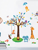 Animales / Paisaje Pegatinas de pared Calcomanías de Aviones para Pared,pvc 60*90cm