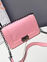 M.Plus® Women's Fashion Snake Print PU Leather Messenger Shoulder Bag