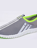 Men's Shoes Outdoor / Casual / Athletic Tulle Fashion Sneakers Black / Blue / Gray