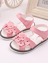 Baby Shoes Dress / Casual Leather Sandals Pink / Red