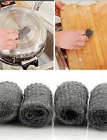 Cleaning Tool Pot Brush Magic Cleaner Melamine Sponge Metal Mesh Super Detergent Tool,Set of 12